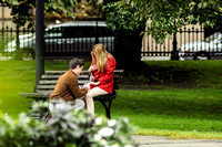 Dorian & Lizzy | Proposal in the Public Gardens